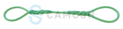Synthetic rope towing rope