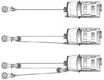 Схемы полиспаст для вытягивания автомобиля