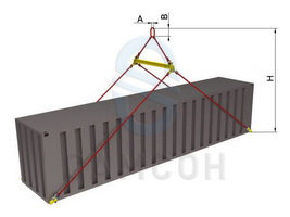GZP kit for container lifting