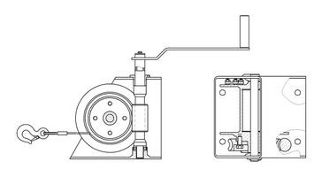 LCH winch diagram
