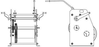 Схема лебедки ТЛ