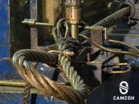 Машинная заплетка канатных строп