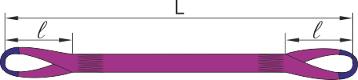 Строп СТП основные размеры