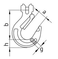 Схема крюка 330А