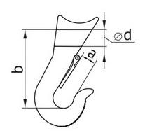 Схема чекерного крюка