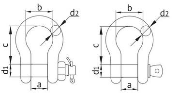 Схема скоба омегообразная